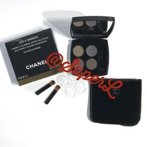 NEW CHANEL Les 4 Ombres 332 Noir Supreme Eyeshadow